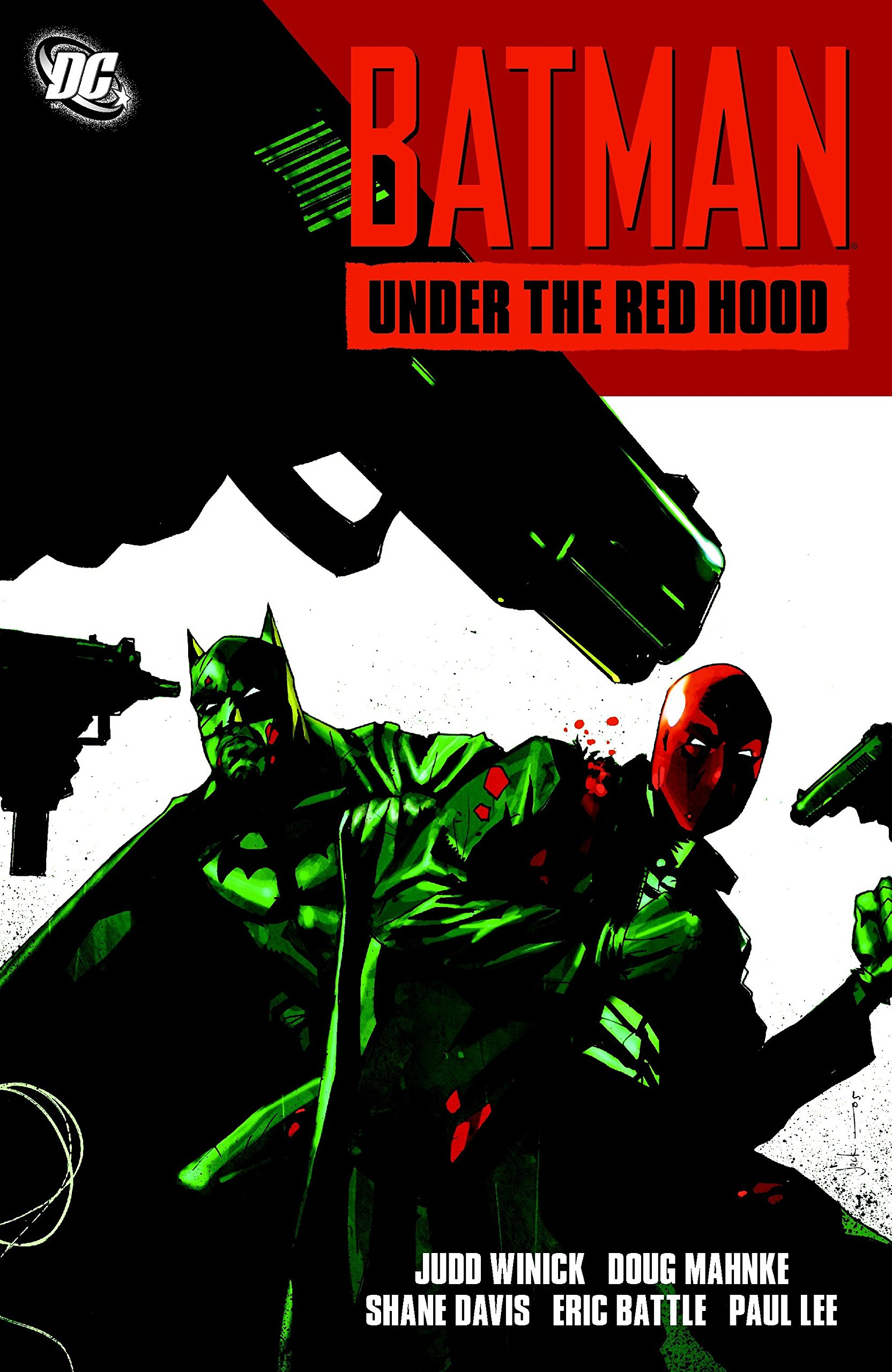 Batman Under the Red Hood Comic
