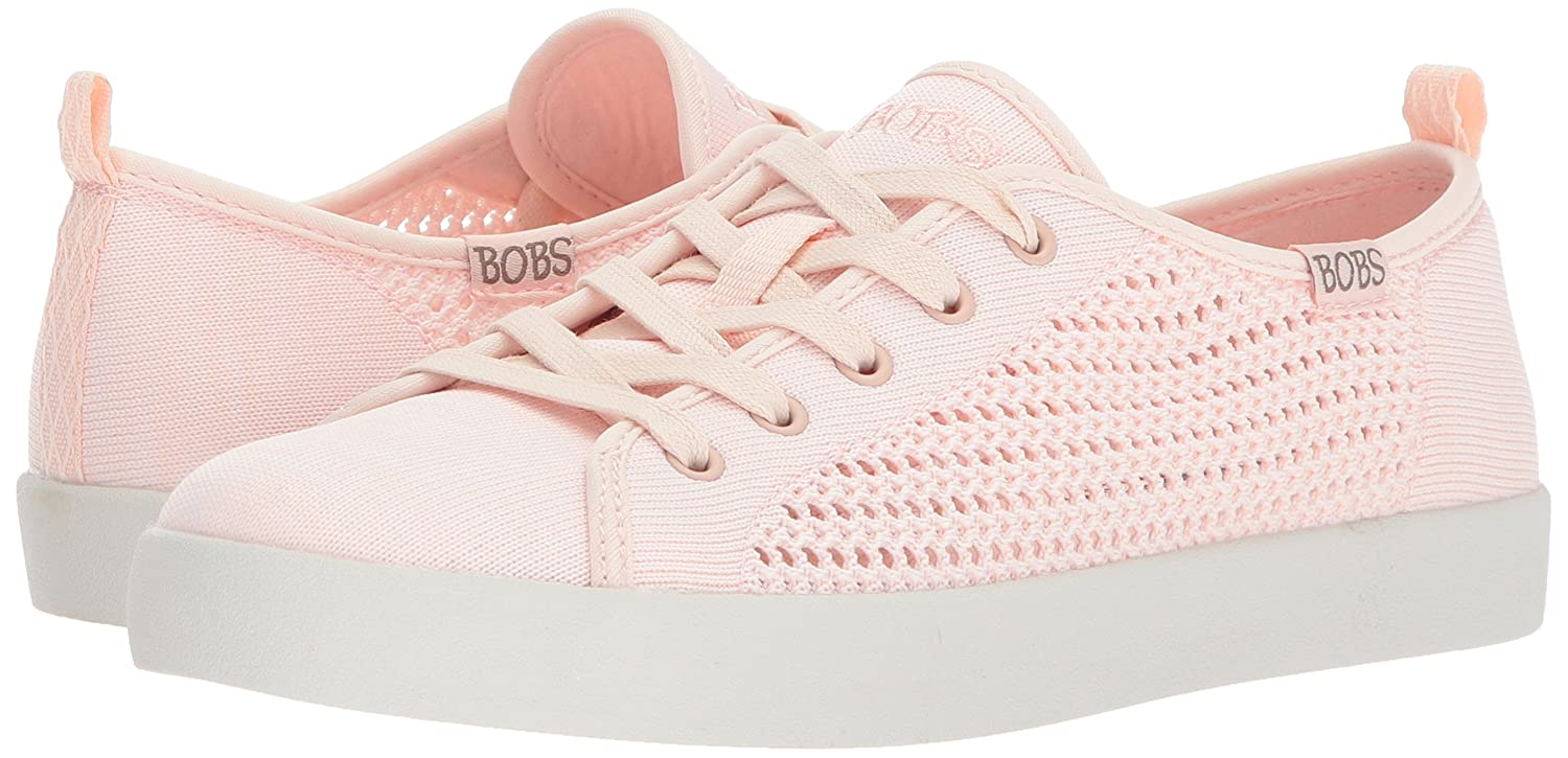Skechers BOBS from Women's Bobs B-Loved-Engineered Knit Flat Pink B071J99JXR 7.5 M US|Light Pink Flat 637e71