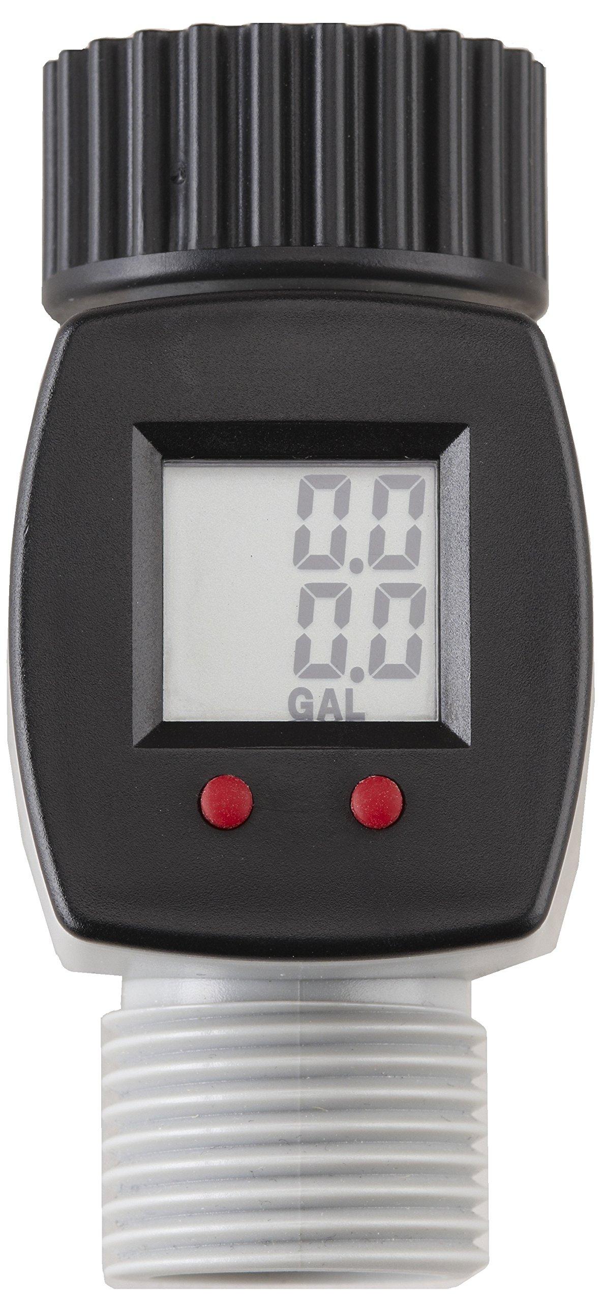 Digital Water Meter : Rainwave rw fm lcd digital water flow meter