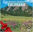 """Untamed & Beautiful Colorado - 2021 Wall Calendars by Red Ember Press - 12"""" x 24"""" When Open - Thick & Sturdy Paper - Breathtaking Views"""