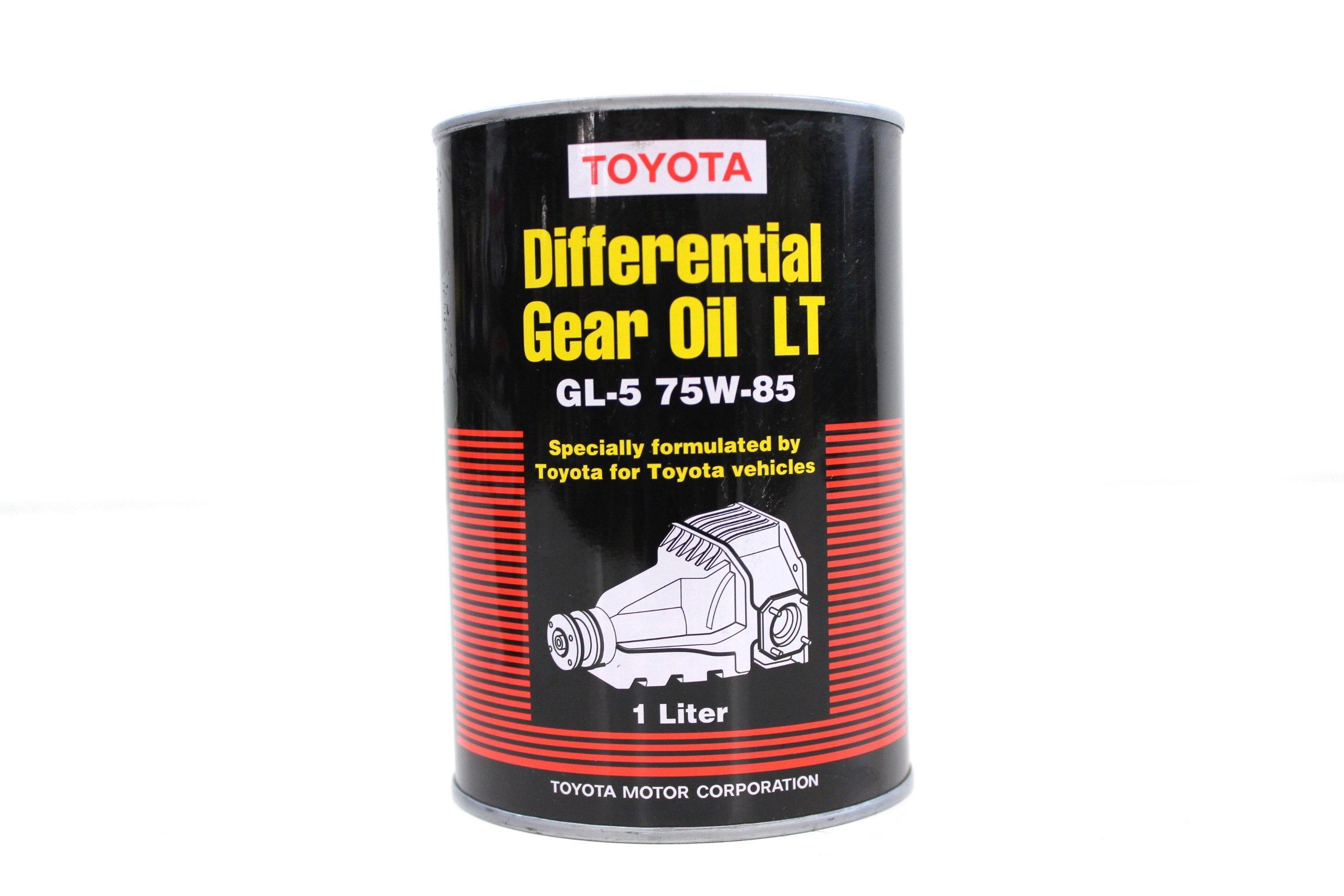 Toyota Genuine Fluid 08885-02506 Differential Gear Oil LT - 1 Liter Bottle