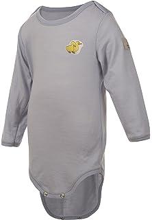 b7664f38c973 Amazon.com  Janus Merino Wool Baby Bodysuit Polka Dot Long Sleeve ...
