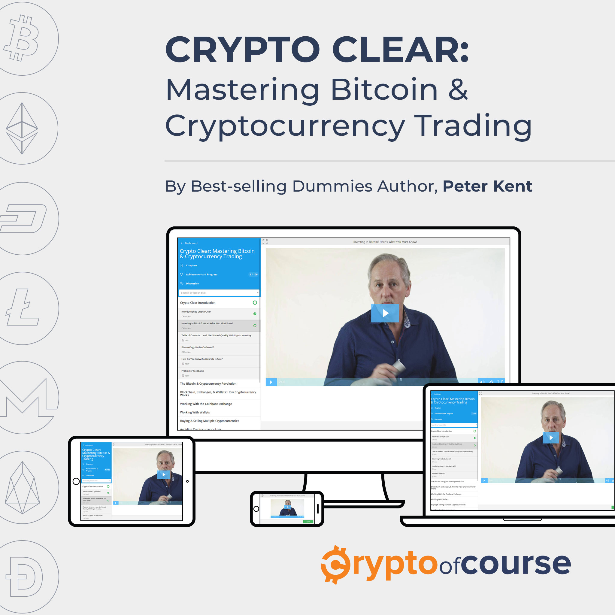 Crypto Clear: Mastering Bitcoin & Cryptocurrency Trading [VIDEO COURSE] [Online Code]