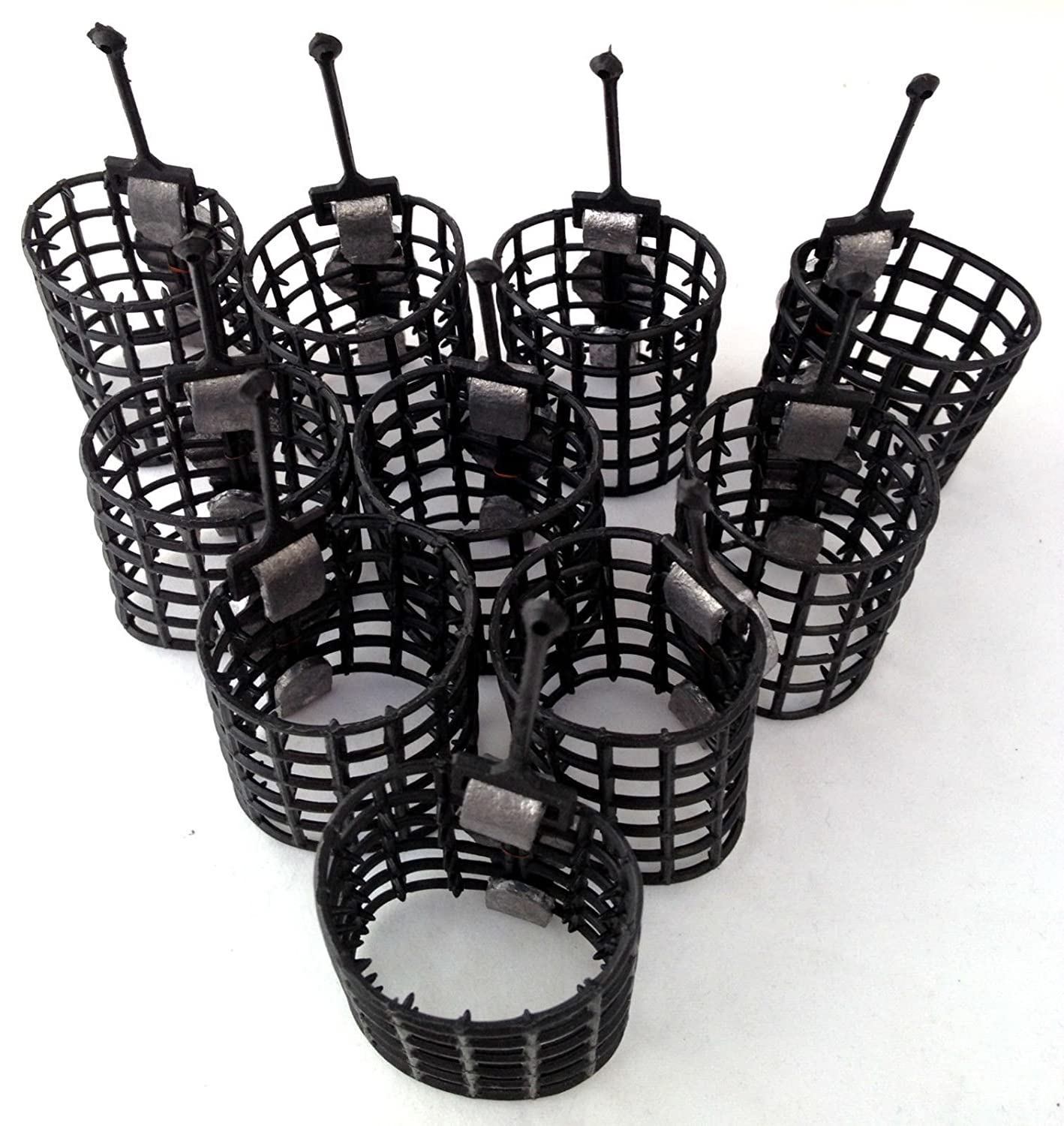 10 cage feeders 10g match course feeders carp fishing tackle BZS