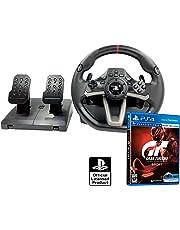 Volante y Pedales PS4 Licencia Original Playstation RWA Apex + Gran Turismo Sport GT Sport