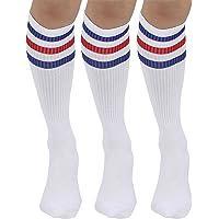Joulli White Knee High Tube Socks 1-3 Pairs