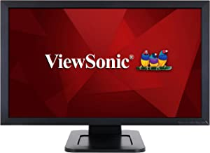 ViewSonic TD2421 24 Inch 1080p Dual-Point Optical Touch Screen Monitor with HDMI and DVI