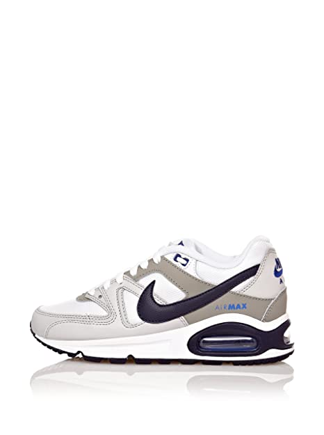 f7950cdc6d217d Nike Air Max Navigate Donna Bianca/Silver/Blu 407759-113-38,5, Taglia 38.5:  Amazon.it: Scarpe e borse