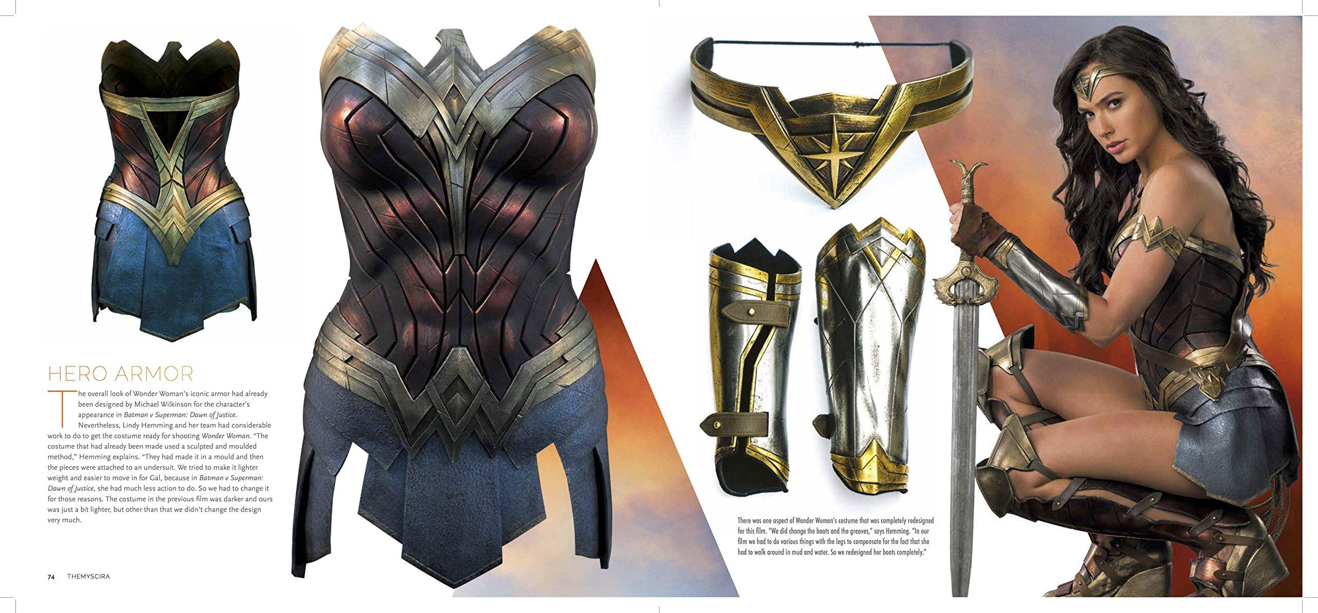 Wonder Woman The Art And Making Of The Film Gosling Sharon 9781785654626 Amazon Com Books