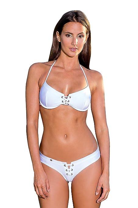Maillot de Bain String Bikini uni Noir Blanc Bleu Rose Orange Violet - Bahamas Avec En Ligne Paypal En Vente En Ligne Bas Frais D'expédition Prix Pas Cher Trouver En Ligne Grand uHclQFuDgC