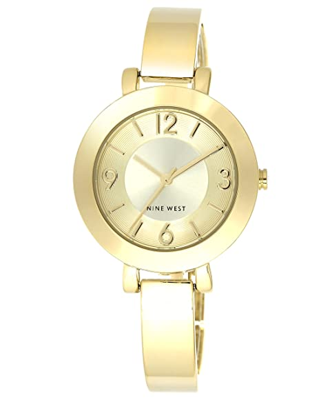 066153b77ba Nine West NW1630CHGB Reloj de Diseñador para Mujer: Amazon.com.mx ...