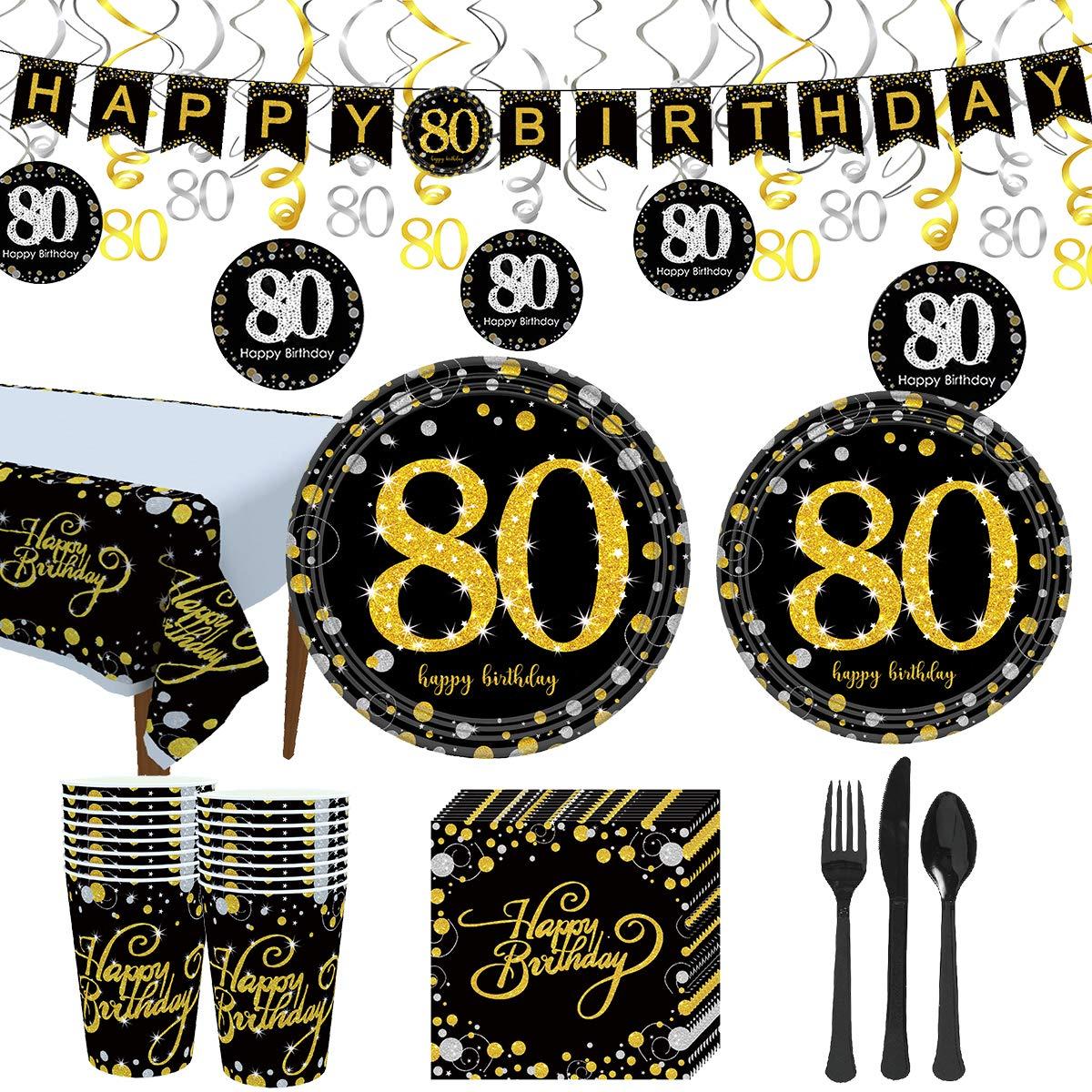 Amazon.com: Trgowaul 80 suministros para fiesta de ...