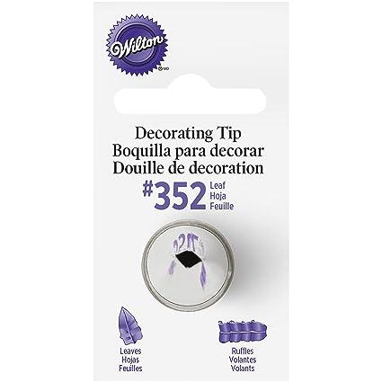 Wilton Decorating Tip No 352 Leaf