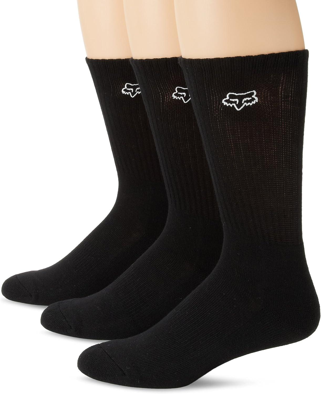 FOX FHEADX Crew Socken 3er Pack Herren Baumwolle Strümpfe Männer
