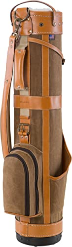 BELDING American Collection Pencil Golf Bag, 7-Inch, Tan