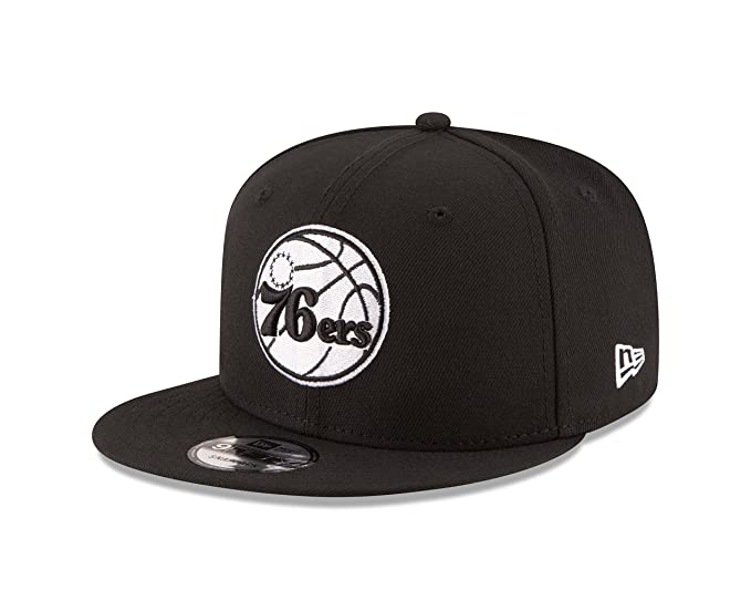 316337fac42 Amazon.com  New Era NBA Philadelphia 76ers Men s 9Fifty Snapback Cap ...