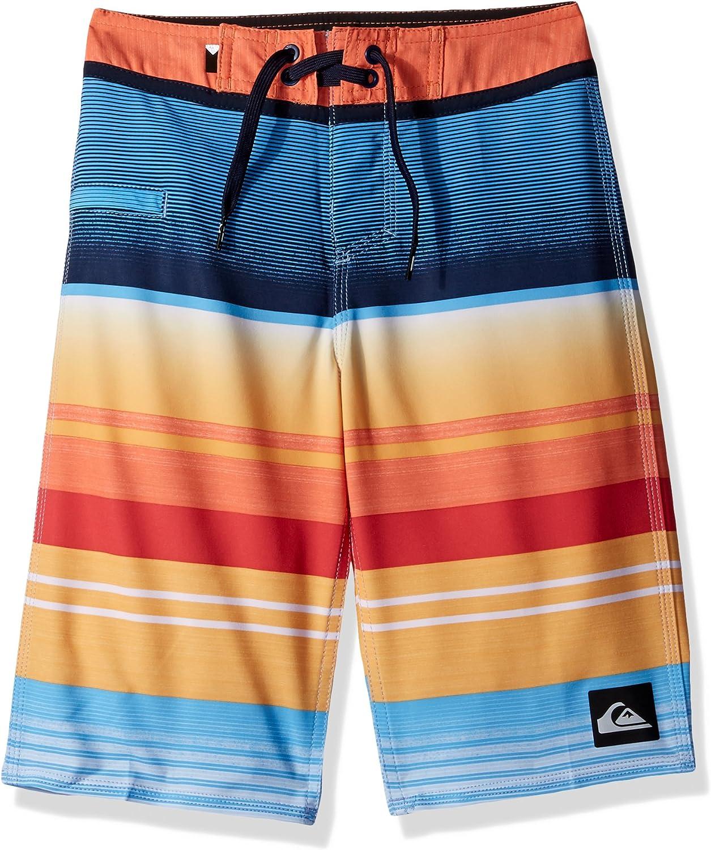 Quiksilver Youth Big Boys Everyday Stripe Vee 19 Boardshort