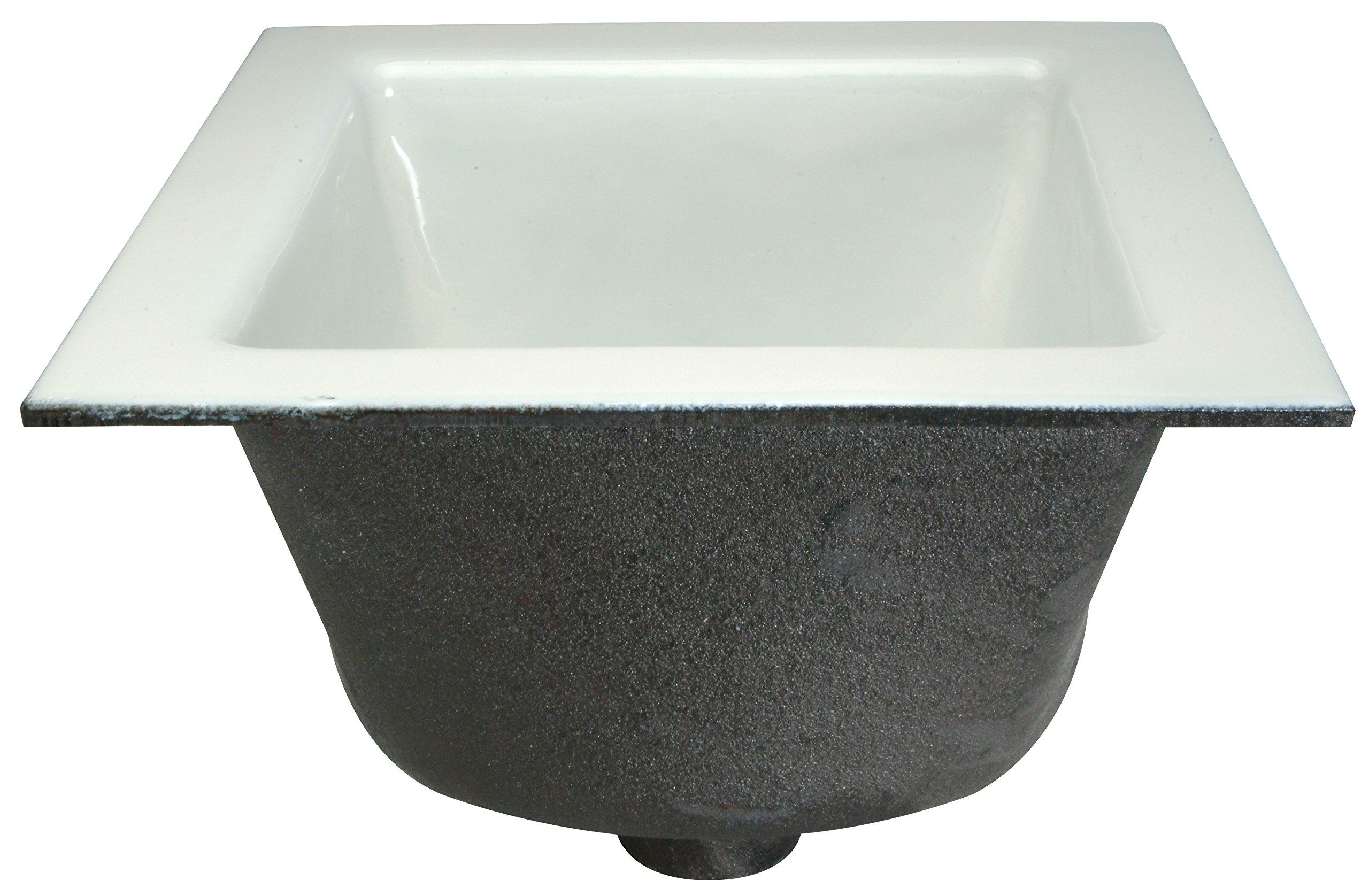 Floor Sink, 3 in Pipe, 12 x 12 x 6 in H by Zurn Industries