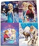 Disney Frozen 4 Folder Set ~ Snowflake Beauty, Sister Power, Snow Play, Sister's Framed