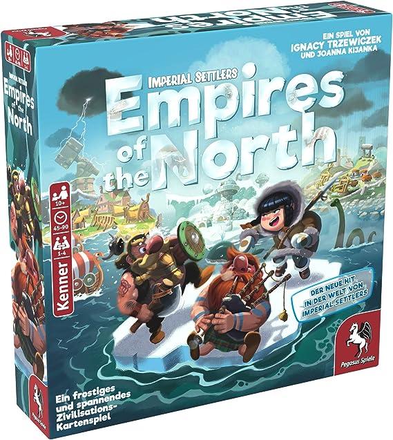 Pegasus Spiele 51971G Empires of the North - Juego de mesa (contenido en alemán) , color/modelo surtido: Amazon.es: Juguetes y juegos