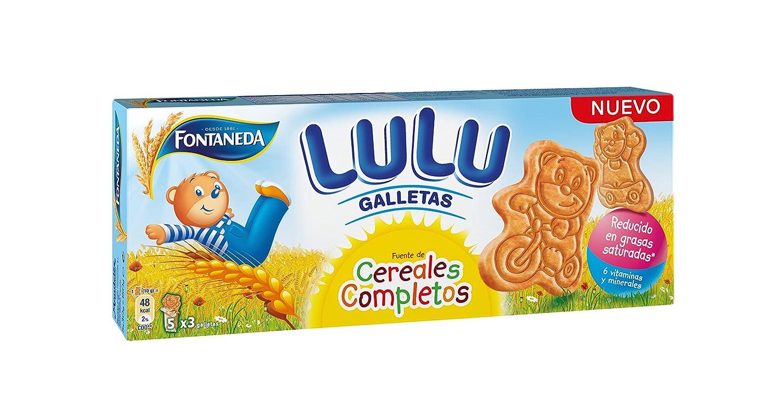 Fontaneda osito lulu galleta biscuit(e 150 g): Amazon.es: Alimentación y bebidas