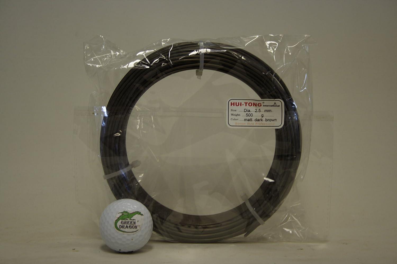 100g of 2.5mm aluminium bonsai wire