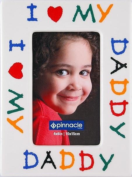 Pinnacle Frames I Love Daddy Desk Frame 4 Inch By 6 Inch Amazonco