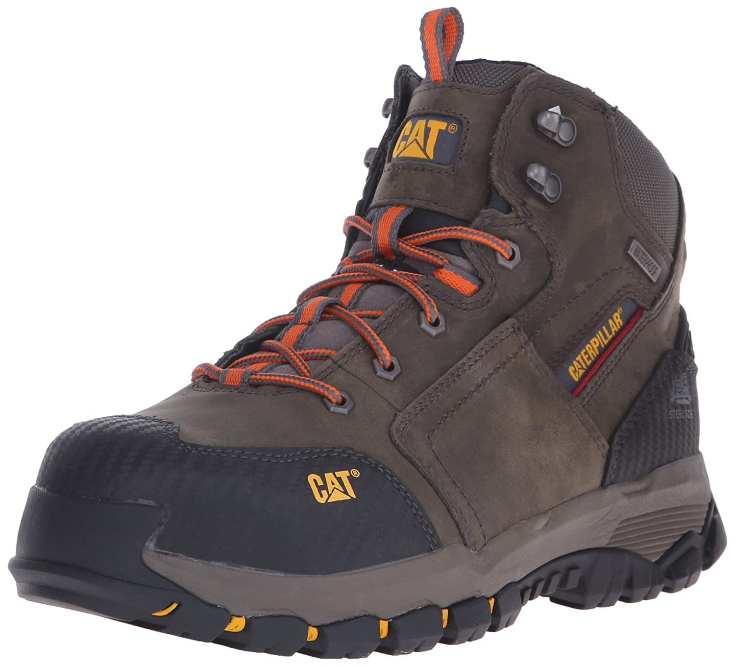 Caterpillar Men 's Navigator Mid防水作業6インチwaterpoofeel Toe Dark Gull Grey 10 C/D US  B014LWPLPQ