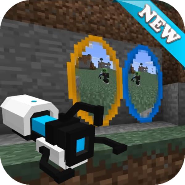 Amazon Com Portal Gun Mod For Minecraft Pe