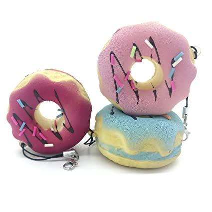 Llavero Original 😍 3 Donuts Anti-estrés, Idea de Regalo ...