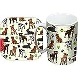 Selina-Jayne Staffy Dog Limited Edition Designer Mug and Coaster Gift Set