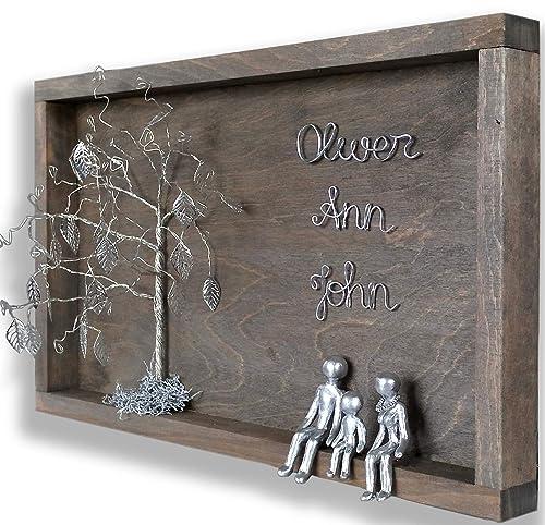Personalized Silver Steel Tin Aluminum Iron Anniversary Gifts Idea 10th 6th 11th 25th 40th 60th 80th Gifts For Women Men Wife Husband 6 10 11 25 Years Wedding For Him Her Inlaws Amazon Ca Handmade