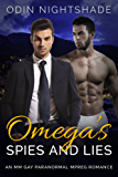 Omega's Spies and Lies: An MM Gay Paranormal Mpreg Romance (English Edition)