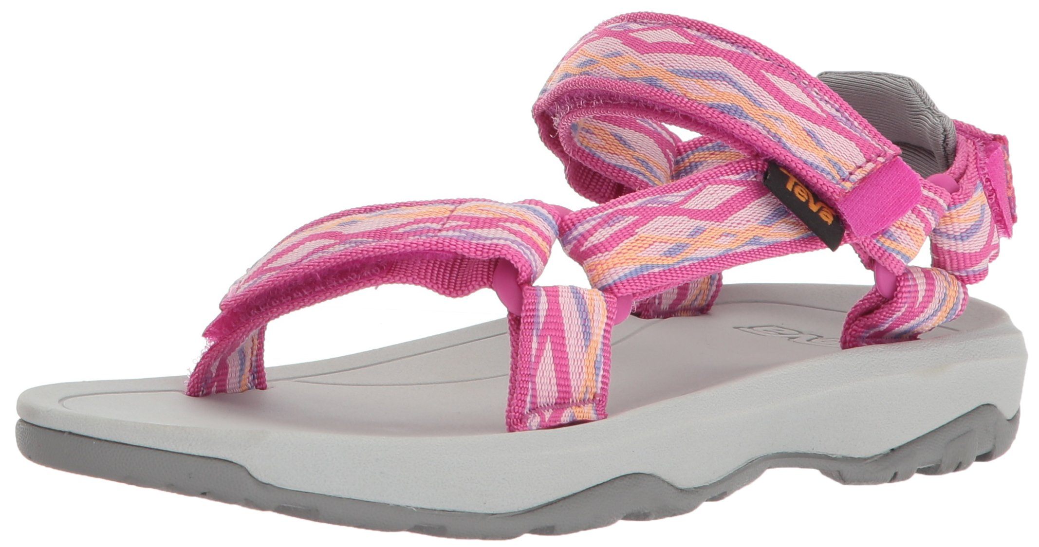 Teva Girls' K Hurricane XLT 2 Sport Sandal, Delmar Pink, 1 M US Little Kid