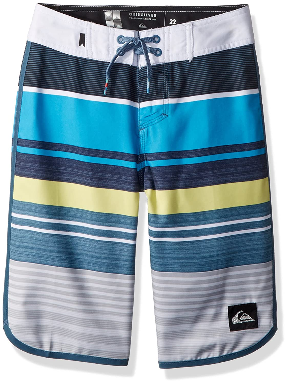 Quiksilver Boys' Big Eye Scallop Youth 19 Boardshort Swim Trunk EQBBS03255