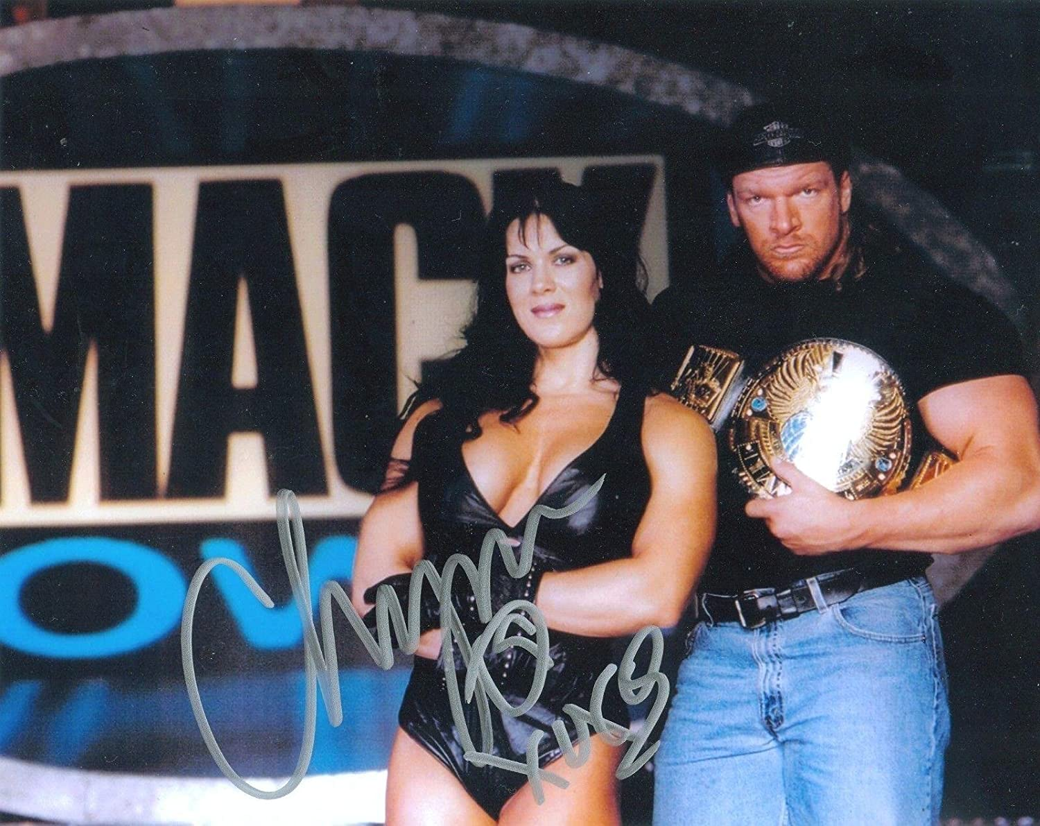 Chyna Wwe Wwf Signed Autograph 8x W Proof Autographed Wrestling Photos At Amazons Sports Collectibles Store