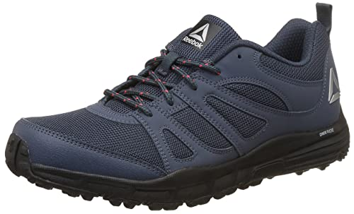 Reebok Men s Adventure Voyager Indigo Cherry Metsil Blk Running Shoes - 7 UK a97762c9c