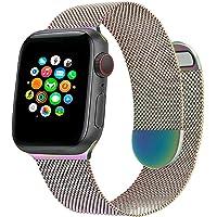 Milanese Metalen Horlogeband Compatibel met Apple Watch Band 44 mm 42 mm 40 mm 38 mm, Magnetische Verstelbare…