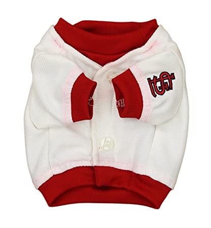 eb0cae155f2 Image Unavailable. Image not available for. Color  Sporty K9 MLB Baseball  Dog Jersey ...
