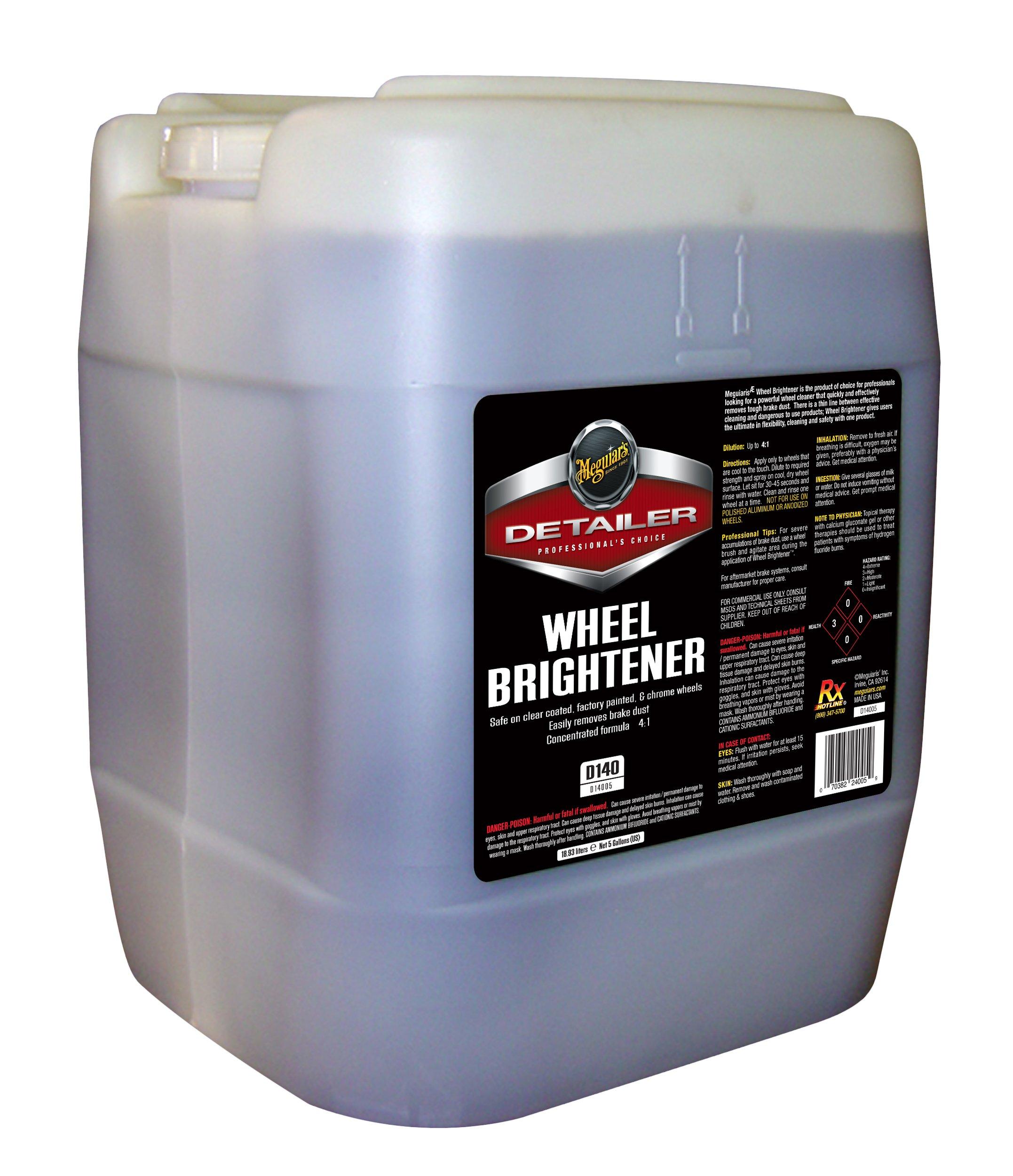 Meguiar's D14005 Wheel Brightener - 5 Gallon