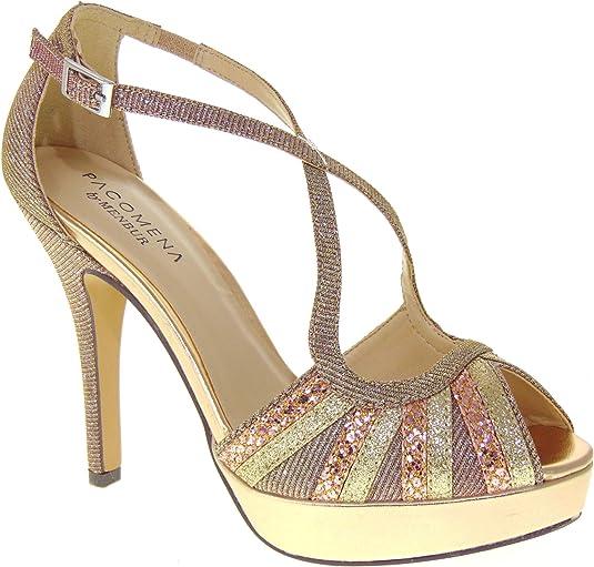MENBUR Zapatos de Mujer con tacón PACOMENA