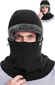 Dimples Excel Balaclava Fleece Hood Winter Warmer Ski Face Mask Men and Women