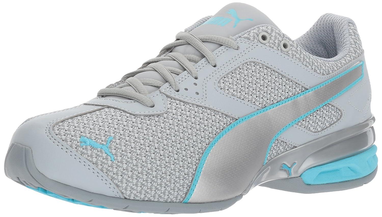 PUMA Women's Tazon 6 Knit Wn Sneaker B01N7JX7FI 10 B(M) US|Quarry-puma Silver-nrgy Turquoise