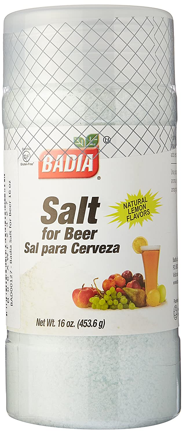 Amazon.com : Badia Salt for Beer 16 oz Pack of 3 : Grocery & Gourmet Food