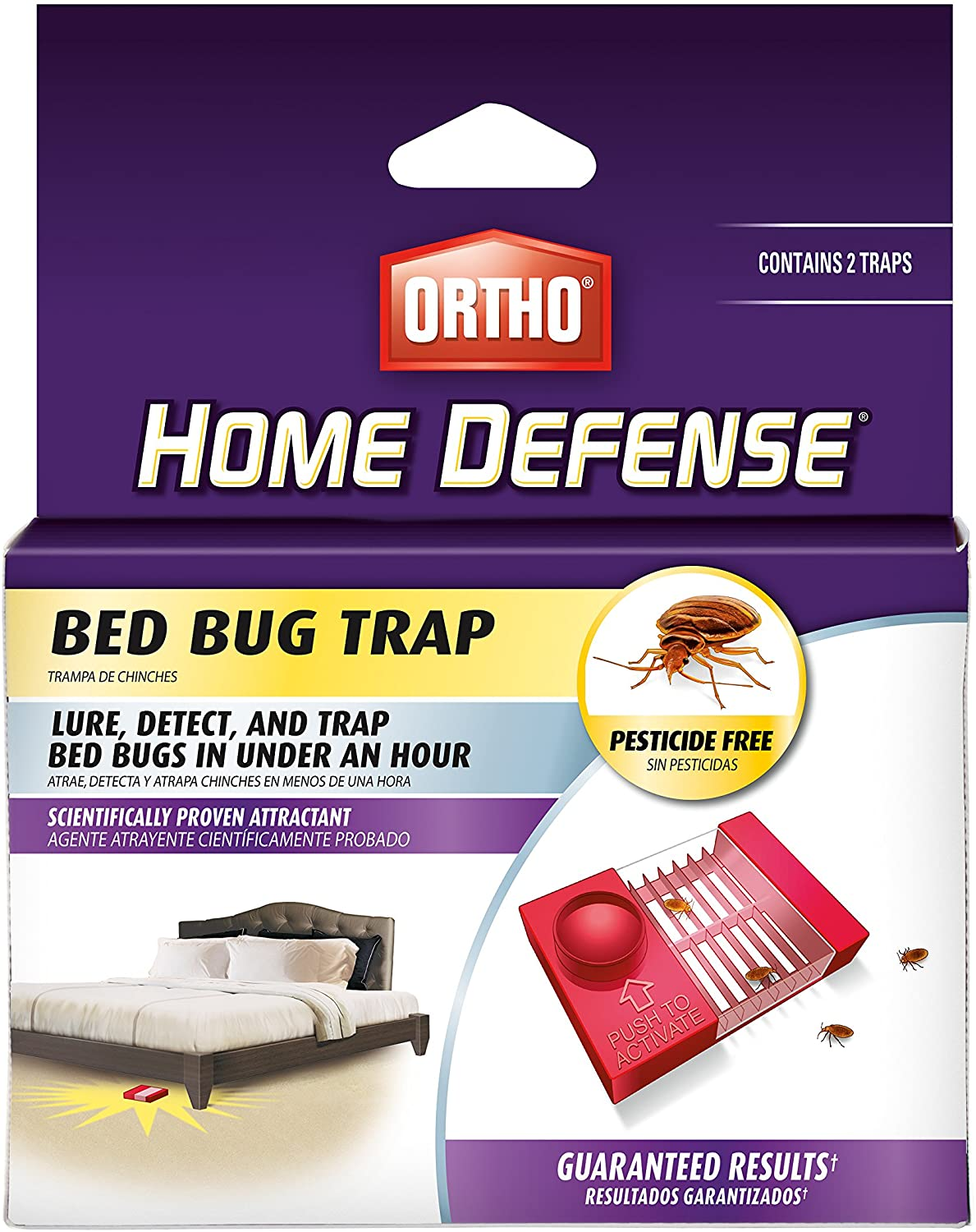 Ortho Home Defense Bed Bug Trap
