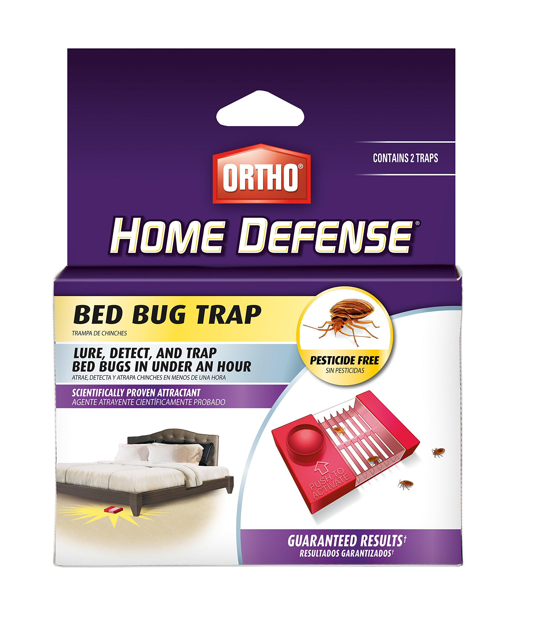 Amazon Com Ortho Bed Bug Trap 0465510 Garden Outdoor