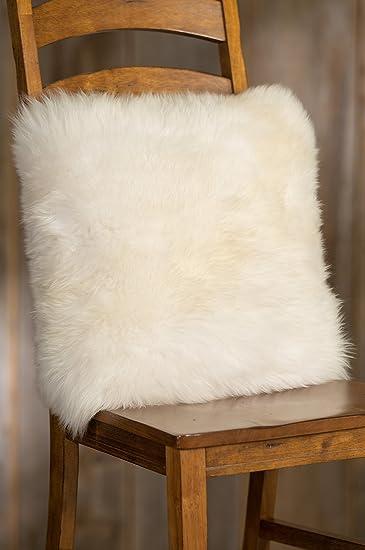 shorn alternative pillow icelandic pillows insert sheepskin with grey down