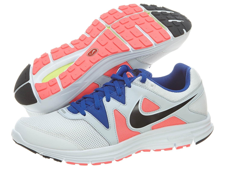 sports shoes b76cc e53ee Nike Women's Free Xt Motion Fit+ Shoes, White/Black/Bright Blue, 9.5