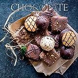 巧克力色 2019 墙壁日历,Calendars 甜点 12 inch x 12 inch Chocolate 2019 Wall Calendar