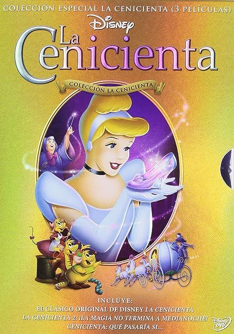 Pack Cenicienta 1-3 [DVD]: Amazon.es: Personajes Animados, Personajes Animados: Cine y Series TV